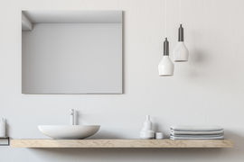 Nástenné zrkadlo MAX 1 40x60cm