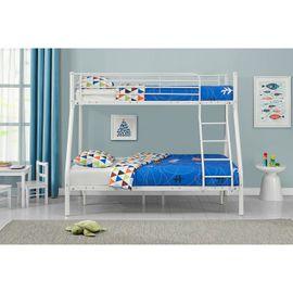 Poschodová posteľ Jonas - biela (28401)